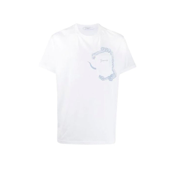 Givenchy - Snake Pocket Tee (White)