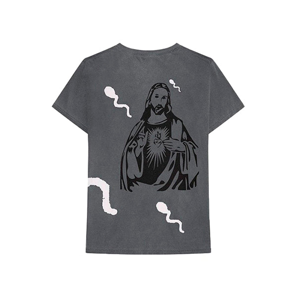 Astroworld -  Stop Trying To Be God Revisible Tee (Grey)