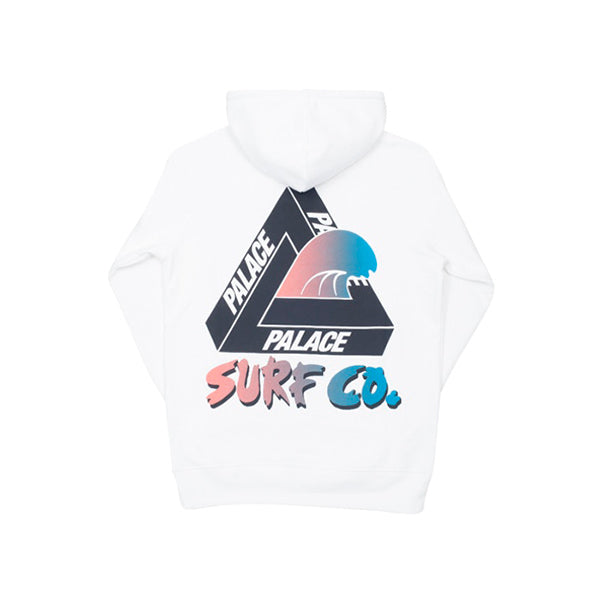 Palace - Surf Co Hoodie (White)