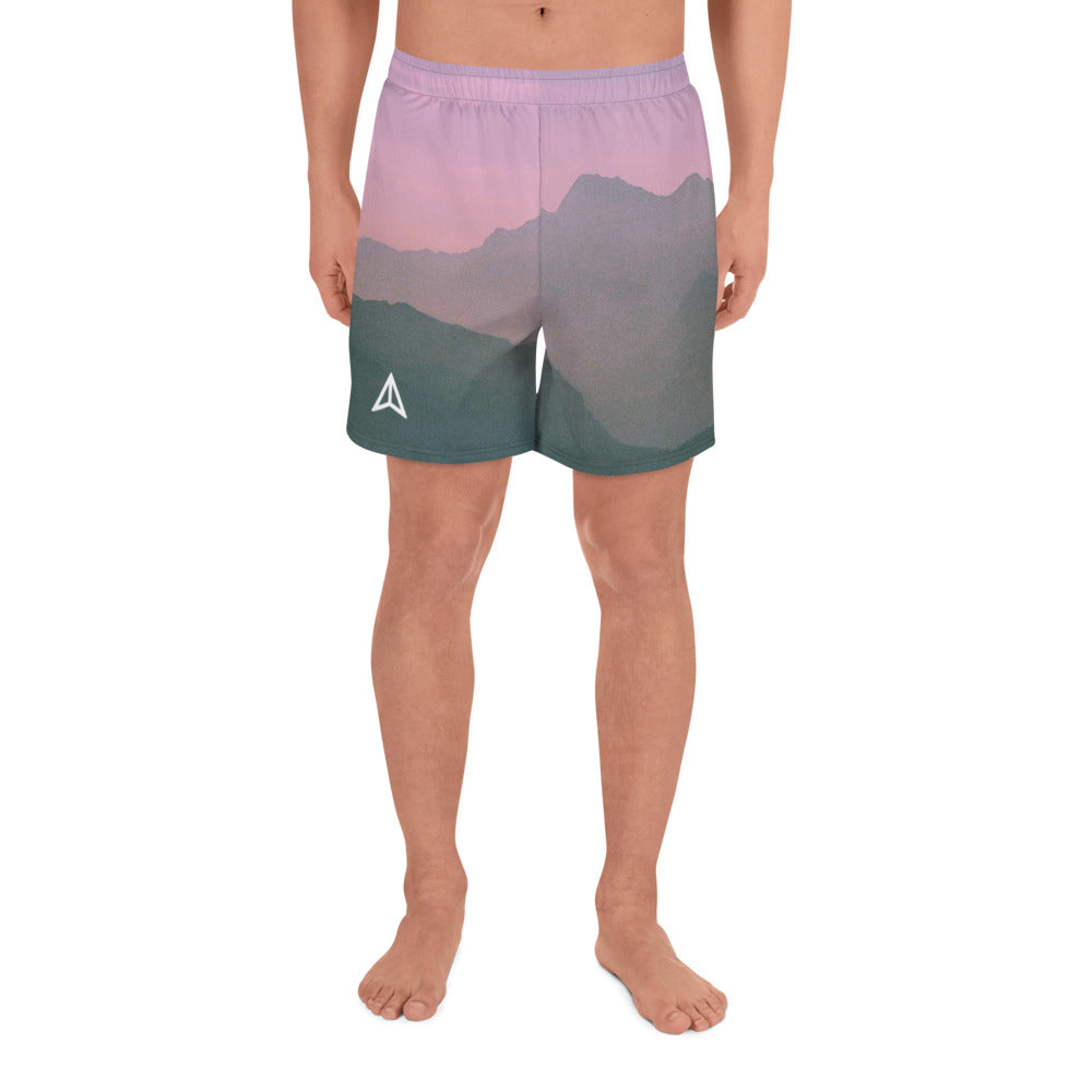 Mountains at Sunset Shorts (Men's)