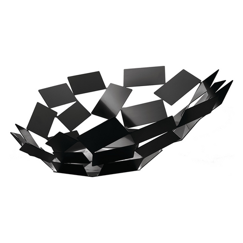 ALESSI SCIROCCO CENTERPIECE IN BLACK