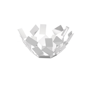 ALESSI SCIROCCO FRUIT BASKET IN WHITE