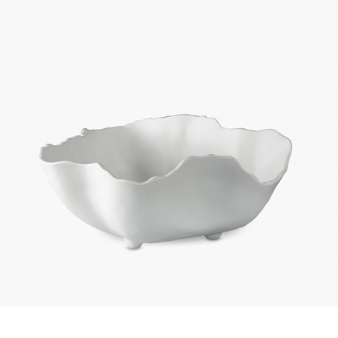 NUBE MEDIUM BOWL in MATTE WHITE