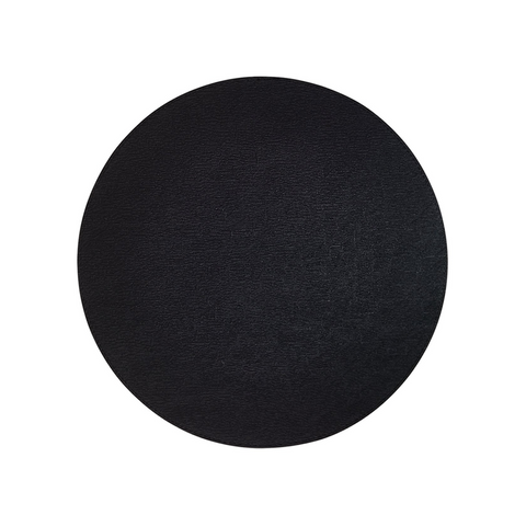 PRESTO ROUND PLACEMAT IN BLACK