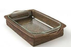 Nito Casserole Basket with Pyrex insert