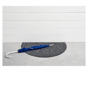 CHILEWICH HEATHERED SHAG WELCOME MAT IN GREY