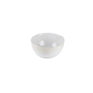 ORGANIC ICE CREAM BOWL IN WHITE
