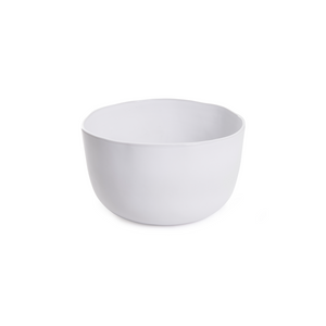 ORGANIC SMALL SERVING BOWL IN WHITE