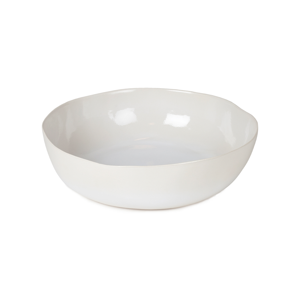 ORGANIC LARGE SERVING BOWL IN WHITE