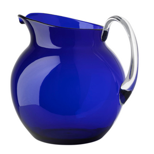 PALLA TRANSPARENT BLUE PITCHER