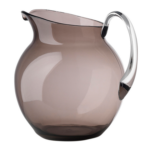 PALLA TRANSPARENT SMOKE PITCHER