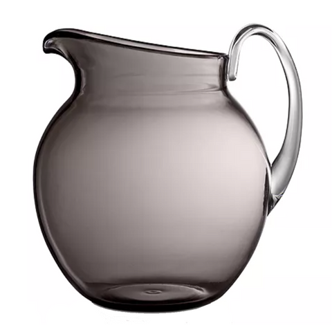 PALLA TRANSPARENT GRAY PITCHER