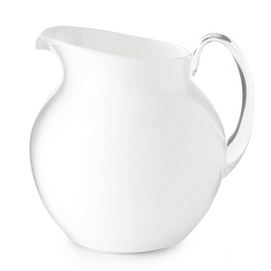 PALLA GLAZED WHITE PITCHER