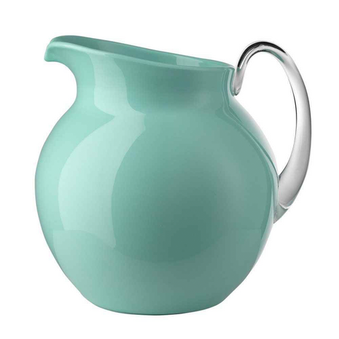 PALLA GLAZED AQUAMARINE PITCHER