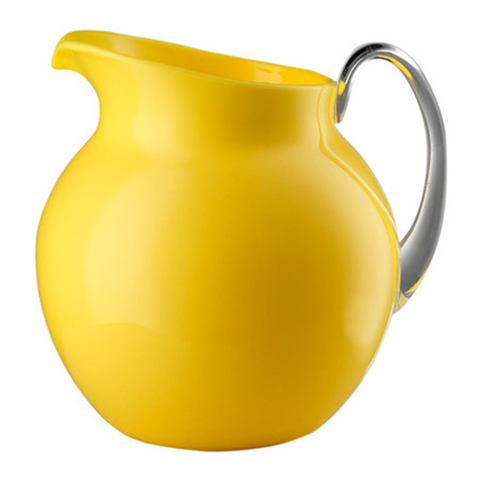 PALLA GLAZED YELLOW PITCHER