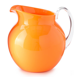 PALLA FLUORESCENT ORANGE PITCHER