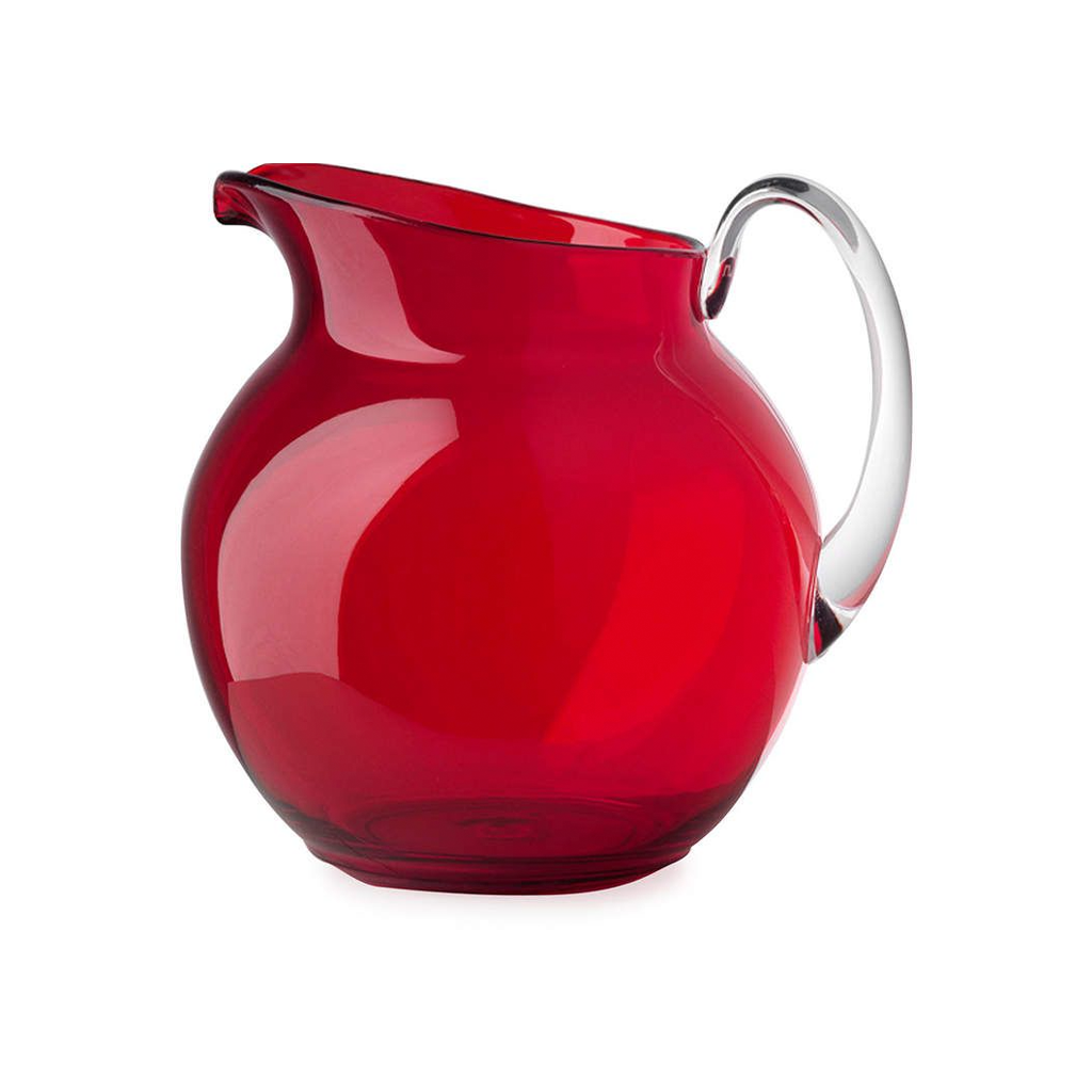 PALLINA TRANSPARENT PITCHER IN RED