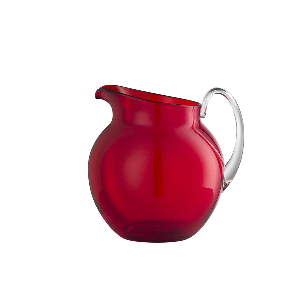 PLUTONE TRANSPARENT PITCHER IN RED