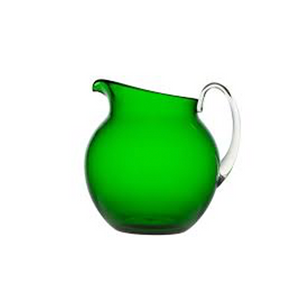 PLUTONE TRANSPARENT PITCHER IN GREEN