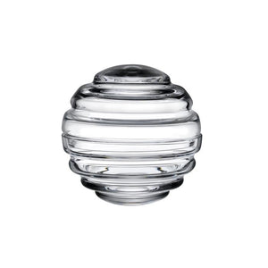 NEST LARGE ROUND GLASS BOX IN CLEAR