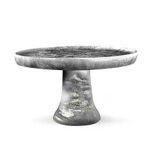 LARGE DARK GREY CAKE STAND