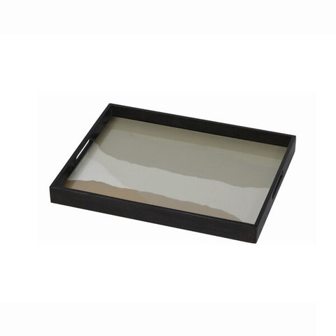 Sand Wabi Sabi Glass Tray