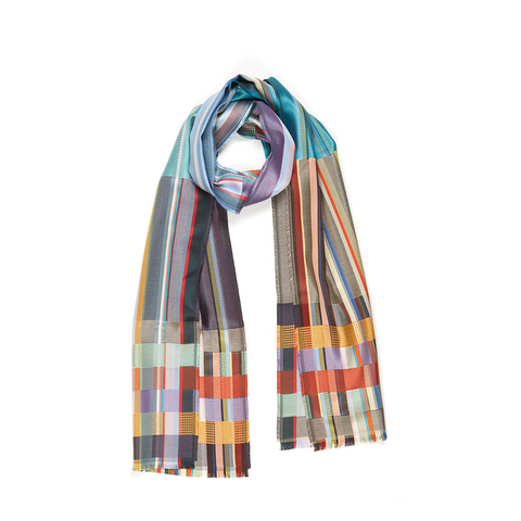 Sandro Heather Silk Scarf