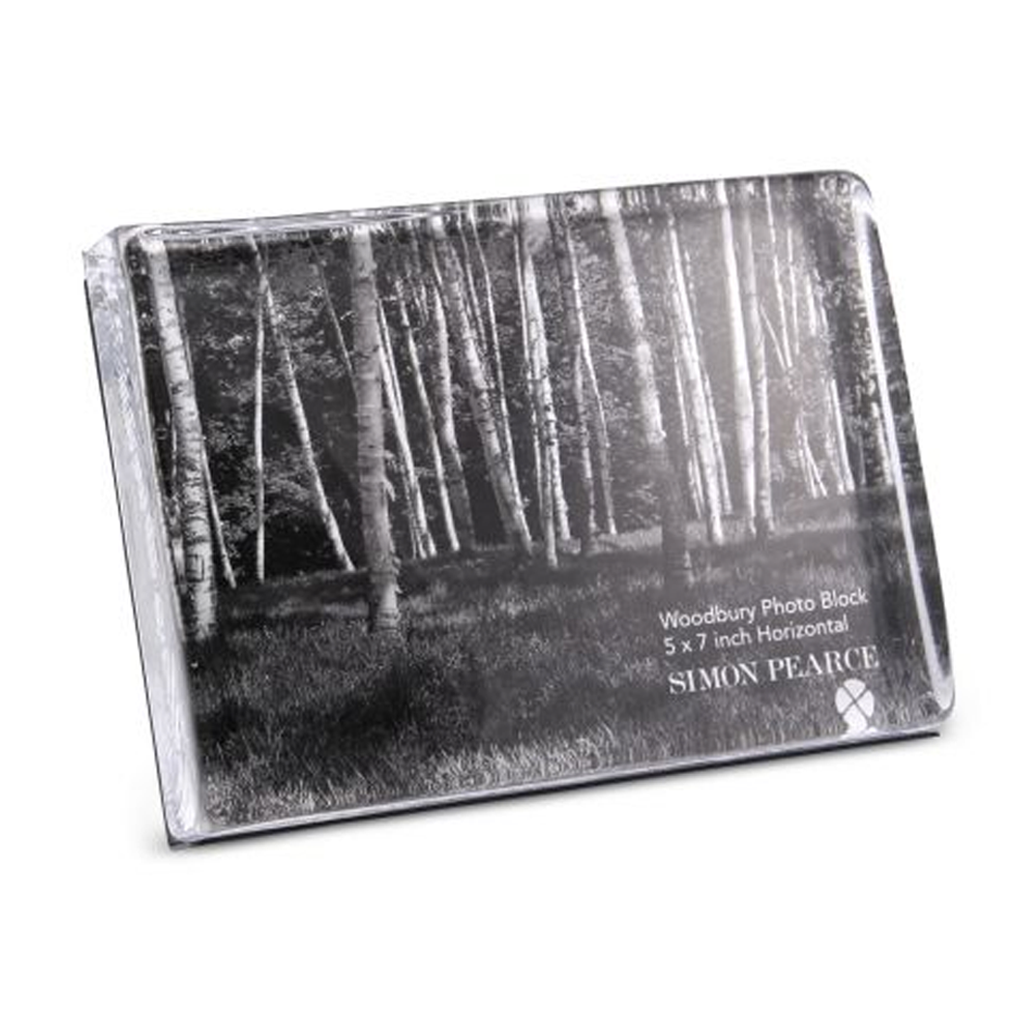 "WOODBURY HORIZONTAL PHOTO BLOCK 5"" X 7"""