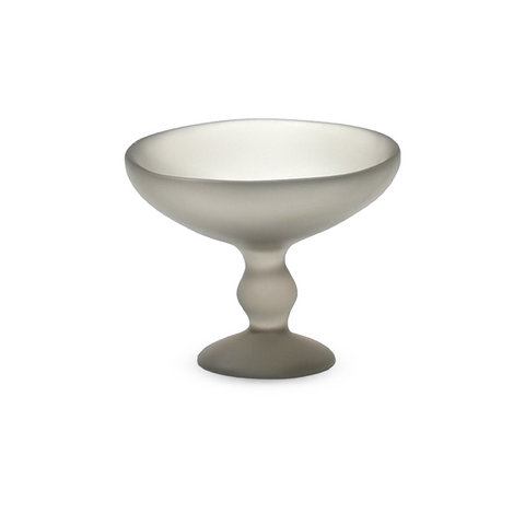 TINA FREY PEDESTAL ICE CREAM BOWL IN FOG