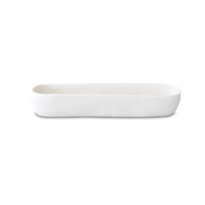 TINA FREY WHITE MEDIUM TROUGH