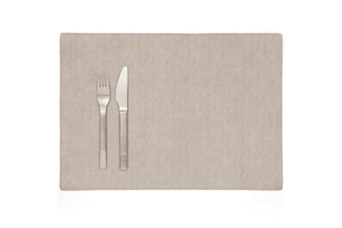 Grey Place Mat