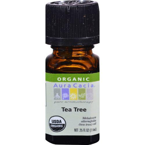 Aura Cacia - Organic Essential Oil - Tea Tree - .25 oz