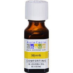 Aura Cacia - Myrrh in Jojoba Oil - 0.5 fl oz