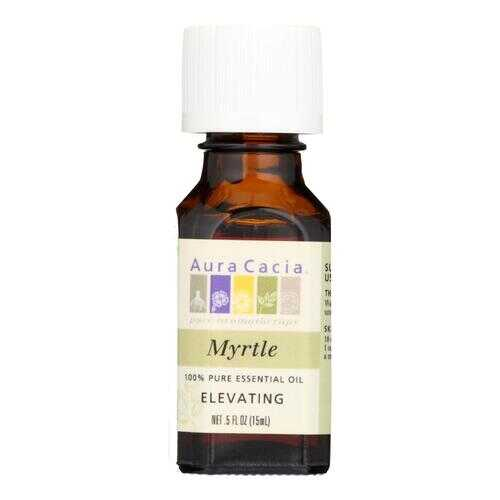 Aura Cacia - Pure Essential Oil Myrtle - 0.5 fl oz