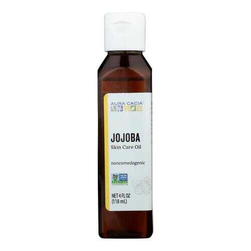 Aura Cacia - Jojoba Natural Skin Care Oil - 4 fl oz