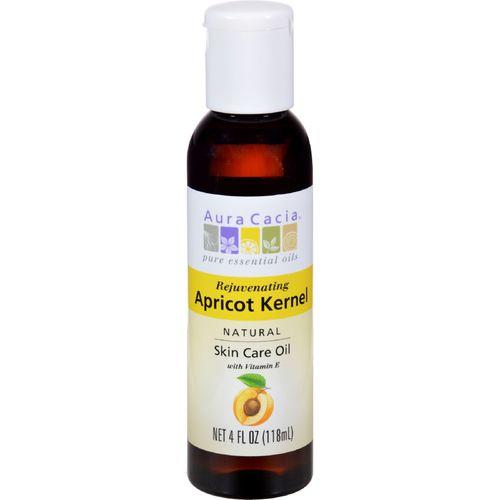 Aura Cacia - Natural Skin Care Oil Apricot Kernel - 4 fl oz