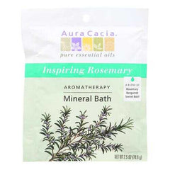 Aura Cacia - Aromatherapy Mineral Bath Inspiration - 2.5 oz - Case of 6