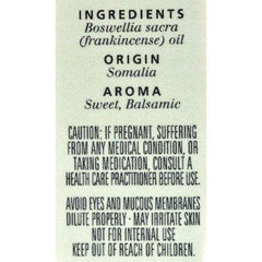 Aura Cacia - Pure Essential Oil Frankincense - 0.5 fl oz