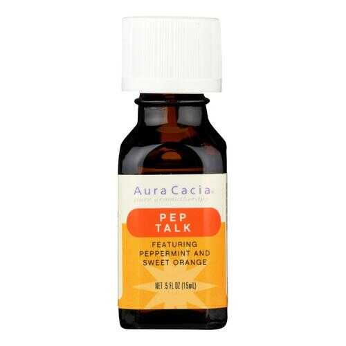 Aura Cacia - Essential Solutions Oil Pep Talk Peppermint and Sweet Orange - 0.5 fl oz