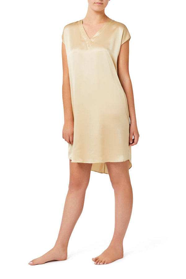 GLORIA CAP SLEEVE NIGHTGOWN