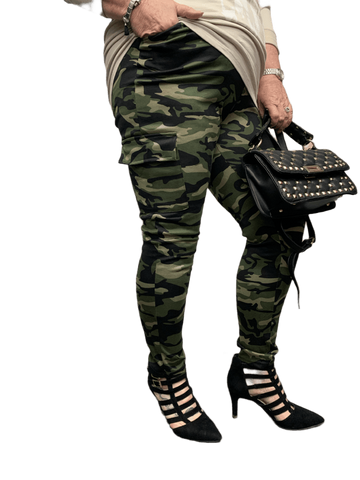 Camouflage Jeggings two sizes   3 colours