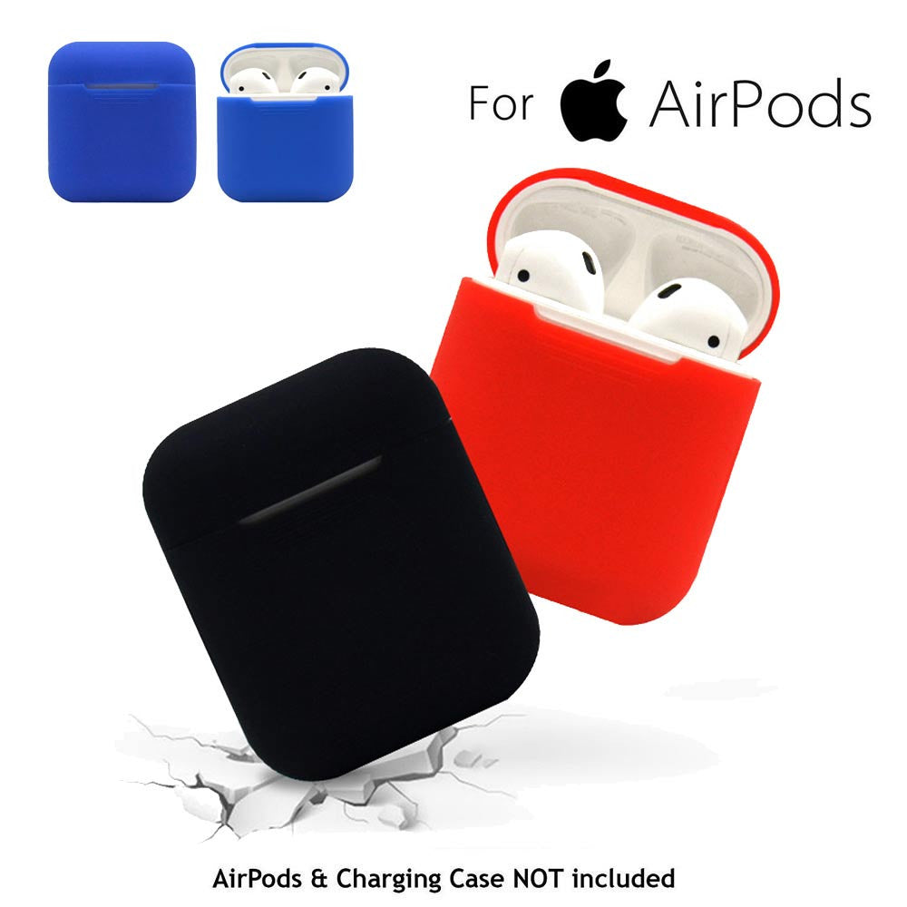For AirPods Silicone Case Cover Protective Skin for Apple Airpod Charging Case sport headphone fone de ouvido drop shopping