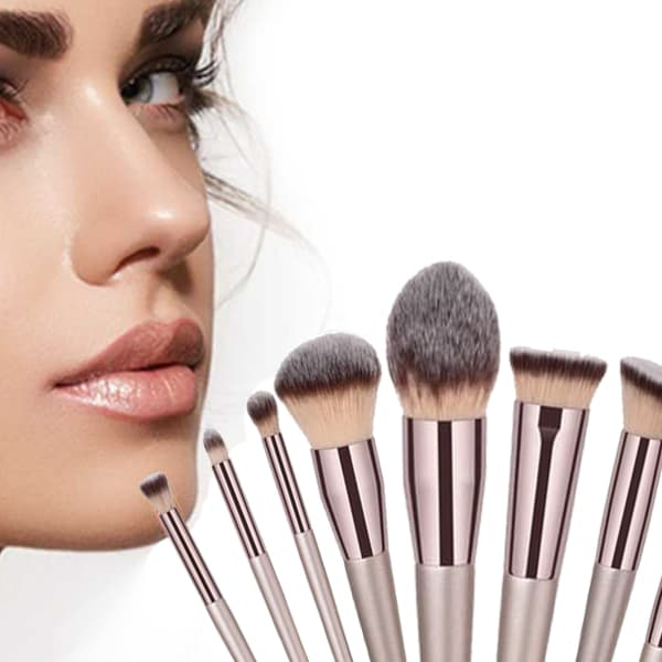 RADIANT COLLECTION 10 PCs Pro Makeup Brush Set