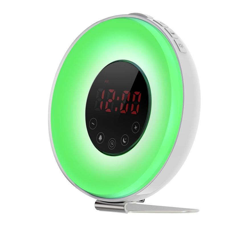 LED Alarm Clock Bright Light Wake up