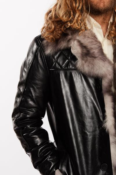 Hillsborough Toscana Shearling Men's Fur Leather Jacket- Limited Stock - FADCLOSET AU