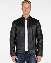 Wilson Mens Leather Jacket - Clearance - FADCLOSET AU