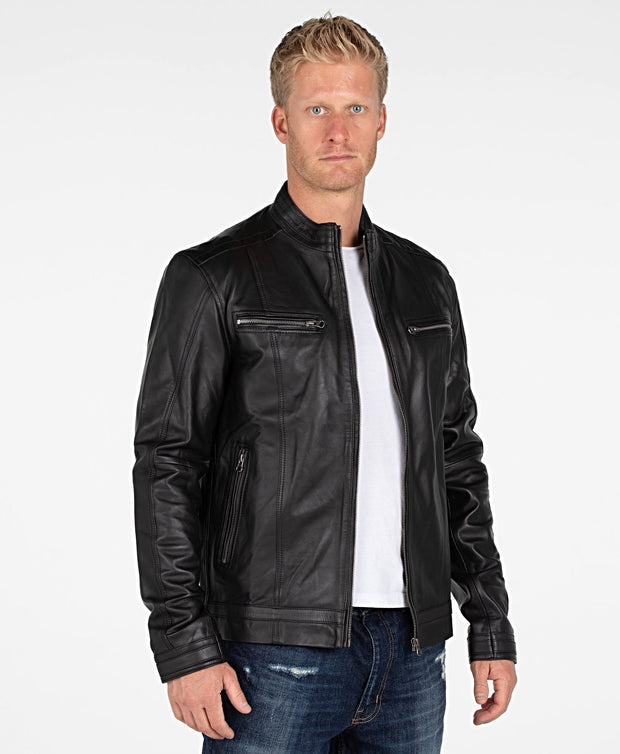 Wilson Mens Leather Jacket - Discounted! - FADCLOSET AU