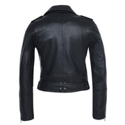 Womens Moto Nappa Leather Jacket - FADCLOSET AU