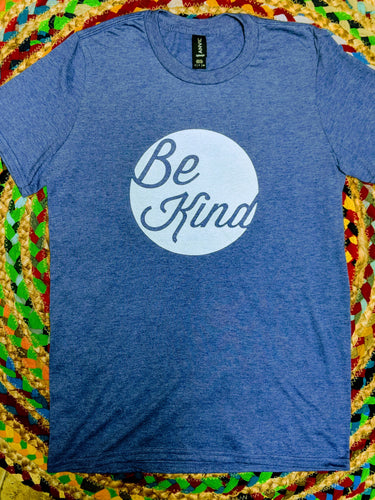 Blue Heather S/S Be Kind tshirt