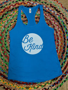 Teal Be Kind tank top